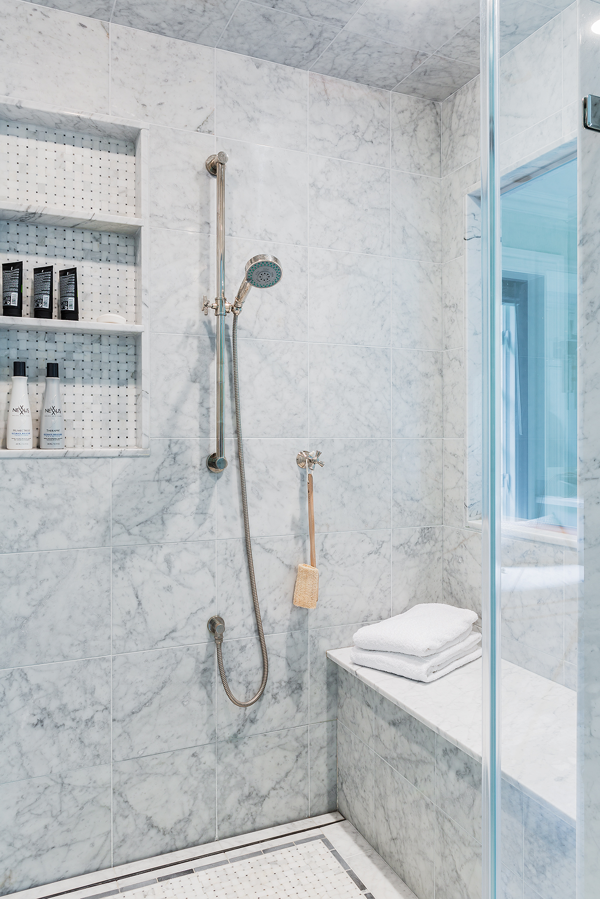 Five-Star Shower Niches With True Design Flair