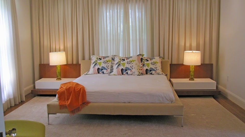 newly redesigned bedroom in Medfield MA