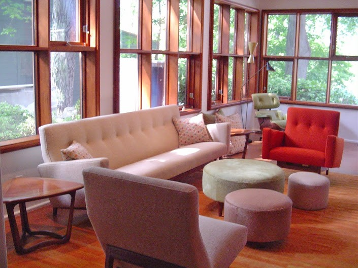 using color in your living room makeover in Newton MA