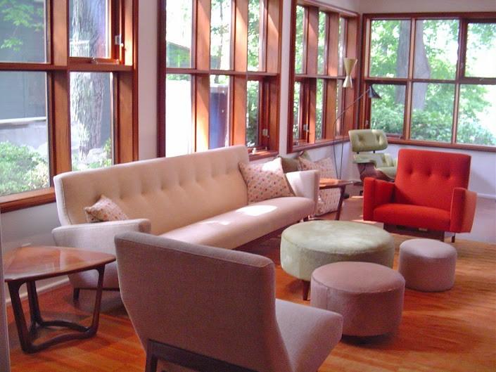 living room interior design in Concord MA