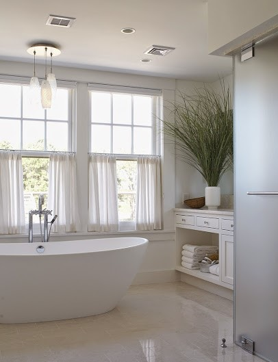 modern bathroom renovation in Milton MA