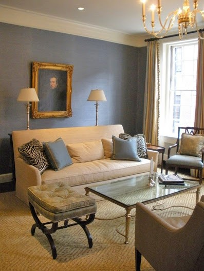 beautiful living room makeover in Back Bay MA