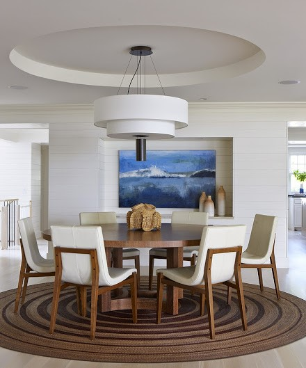 sleek and modern interior design in Cohasset MA