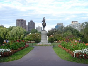 Boston MA Public Garden