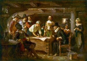 puritans the beginning of Boston's history